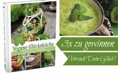 Vegane Glücksküche: soja- & glutenfrei! 3 Exemplare zu gewinnen.