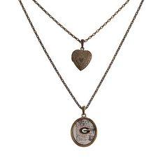 Georgia Bulldogs Necklace