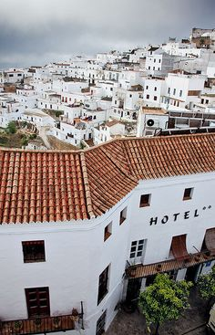 Spain - Vejer: Magical Vejer by John & Tina Reid, via Flickr