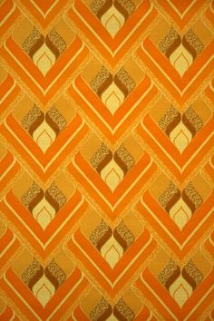 Retro wallpaper from the seventies