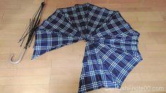 壊れた傘はすてていませんか?耐水性があるのでエコバッグに最適です。そのほか傘でこんなものができるんだ!というアイデアも盛りだくさん。まずはエコバッグ作りにチャレンジしてみませんか? Diy Clothes Bag, Diy Gift Box, Old T Shirts, Waterproof Fabric, Knitted Bags, Handmade Bags, Fabric Scraps, Cool Things To Make, Traveling By Yourself