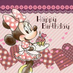 Minnie Mouse Happy Birthday