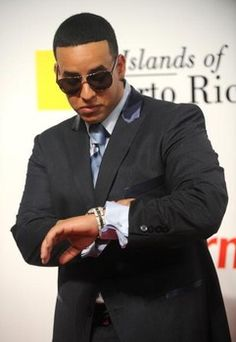 Reggaeton king Daddy Yankee attends various music awards representing the Latino community.