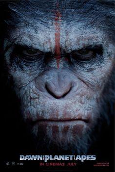 Nuevo poster de Dawn of the Planet of the Apes de @mattreevesLA @Apes Dawn #DawnOfApes