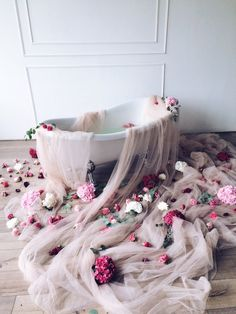 "Фотозона ""Ванна с цветами"""