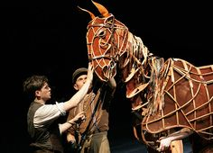 From the play War Horse - a beautiful puppet. I have been waiting forever for a book to arrive from Amazon about the making of this puppet.
