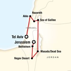 Check out the itinerary for GEEO's Israel programs!