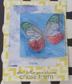 I just listed Chase Your Dreams A2 Butterfly Handmade greeting card all occasion encouragement on The CraftStar @TheCraftStar #uniquegifts
