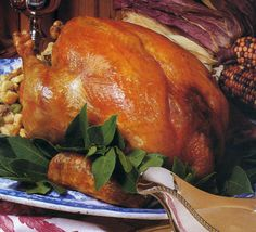 This recipe comes from the November 1988 issue and is part of our Thanksgiving Hall of Fame series. This large turkey will serve 16. If you have a smaller group, there will be plenty of leftovers to enjoy over the next few days.