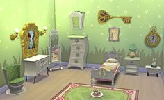 Sims 4 CC's - The Best: Alice in Wonderland Conversion Set by Josiesimblr