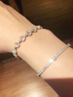 Diamond bracelets , sparkles under the sun !!