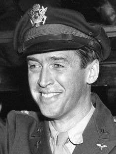 Jimmy Stewart, 1945--a real man who didn't lose his standards to Hollywood
