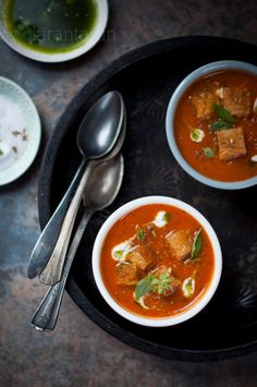 Roasted Spiced Tomato Soup