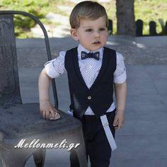 "Dolce Bambini - Βαπτιστικό για αγόρι ""Junior"" navy blue, κωδ. 2526 Marie, Style, Fashion, Xmas, Perfect Wedding Dress, Bebe, Swag, Moda, Fashion Styles"