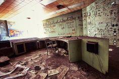 Bethlehem Steel North Office – Lackawanna, New York - Photograph by Chris Luckhardt