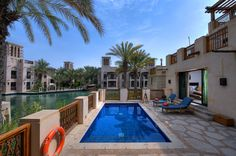 Madinat Jumeirah - Malakiya Villa - Lifestyle - Pool View