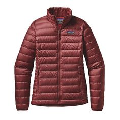 Patagonia Women\'s Down Sweater Jacket - Drumfire Red DRMF