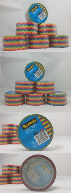 Craft Tape 122694: Scotch 80 S Rainbow Duct Tape 3M Roy-G-Biv Multi-Use Tape New Stock (6 Rolls) -> BUY IT NOW ONLY: $49.95 on eBay!