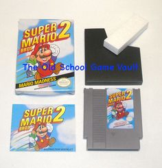 Super Mario Bros 2 - Complete for The Nintendo NES - The Old School Game Vault