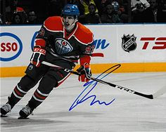 Oilers Ryan Nugent-Hopkins Autograph