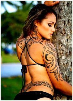 Maori Tribal Tattoo Designs Tips: Sexy Maori Tribal Tattoo Ideas For Girl ~ Tattoo Design Inspiration