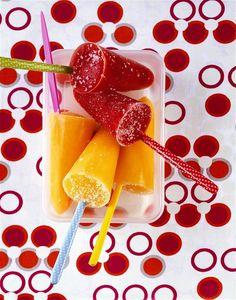 Nejlepší recepty na domácí nanuky, po kterých rozhodně nepřiberete - iDNES.cz Sorbet, Mango, Eat Smarter, Cooking With Kids, Gelato, Chocolate Fondue, Grapefruit, Watermelon, Pineapple