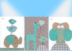 Children art print Nursery room art Baby nursery print by Ateniz, $35.00