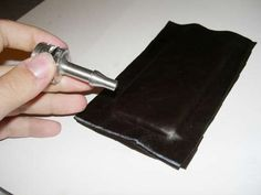 DIY: How To Make Your Own Great Leather iPod/iPhone Case | Apartment Therapy