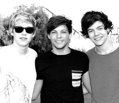 Niall Horan, Louis Tominson, & Harry Styles <3