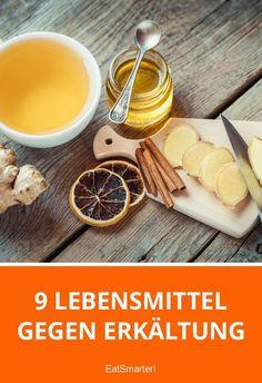 9 Lebensmittel gegen Erkältung | eatsmarter.de Eat Smarter, Latte, Food, Cough Medicine, Feel Better, Home Remedies, Healthy Food, Foods, Losing Weight