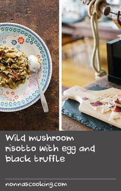 "Wild mushroom risotto with egg and black truffle | ""It's not everyday we get to hang out with celebrated chefs, so when the opportunity to visit Seamus Mullen, owner of Tertulia and author of Hero Food, in his own home presented itself, we jumped at the chance. We'll be the first to admit going through a bit of a fan-girl moment – after all, he's spent time in some of Spain's most renowned kitchens; has competed on The Next Iron Chef; and has a laundry list of celebrities passing through…"