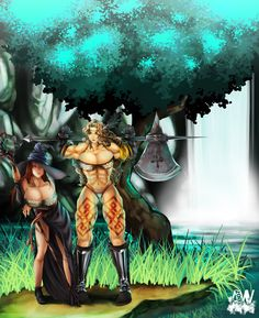 CMMSS - Dragon's Crown by AW08 on DeviantArt