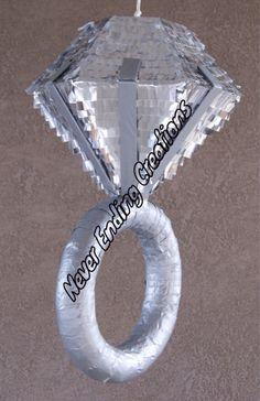 DIAMOND RING PINATA by NeverEndingCreation on Etsy