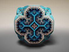 Fractales Fabergé: el ornamento de un sistema caótico que desparece con la más mínima perturbación