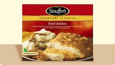 Worst Supermarket Chicken:  Stouffer's Homestyle Classics Fried Chicken; trans fats & MSG.