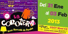 Bazar La Corotera  CCCT, Espacios Dejavu, Nivel C2, Chuao, Caracas  31 Enero al 03 de Febrero