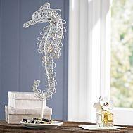 Wire Seahorse Jewelry Storage/ accent