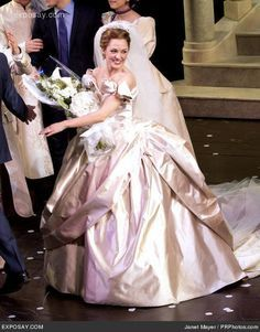 laura osnes in Cinderella. I'm going next Friday! Grease Broadway, Broadway Plays, Broadway Shows, Rodgers And Hammerstein's Cinderella, Cinderella Broadway, Theatre Geek, Musical Theatre, Bridal Gowns, Wedding Gowns