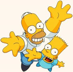 Wallpaper Bart y Homer simpson by rochypeluchito on DeviantArt