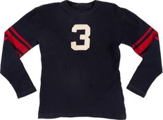 1931-33 Kirk Haynes Game Worn Ole Miss Rebels Football Jersey.