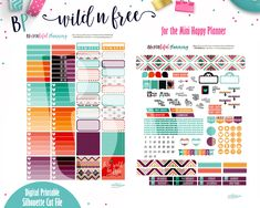 Free Printable – Mini Happy Planner – BEaYOUtiful Planning