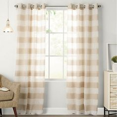 sonoma life + style gianna curtain | guest bedroom | pinterest