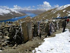 Outside toilet in Tibet with stunning view. Submitted by Ina Jurga.