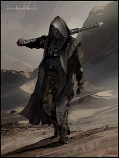 Mark Molnar - Sketchblog of Concept Art and Illustration Works: Project Dune - Sardaukar