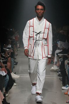 Soshi Otsuki SS16.  menswear mnswr mens style mens fashion fashion style runway soshiotsuki