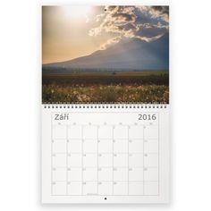 Kalendář 2016 - Krásy přírody