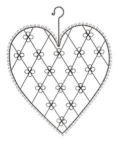 Look what I found on #zulily! Wire Heart Wall Hanging Card Holder #zulilyfinds