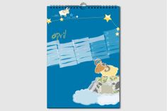 Sternzeichen Geburtstagskalender. Jeden Monat ein neuer Schatz. Kalender ohne Jahreszahl und Tagesangabe, wiederverwendbar, DIN A4, April