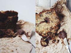 Banana bread à la pâte à tartiner (#Les Tartinades) (recette de Rose Bakery)