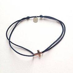 Bracelet fil Croix Argent - Senzou - The Gift Shop